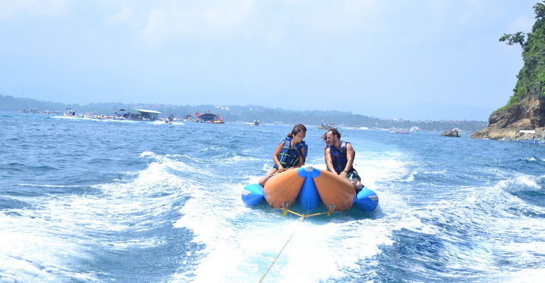 Banana Boat Boracay Activity