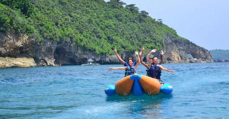 Banana Boat Boracay Activity