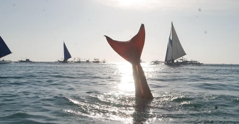 Mermail Lesson Boracay Activities