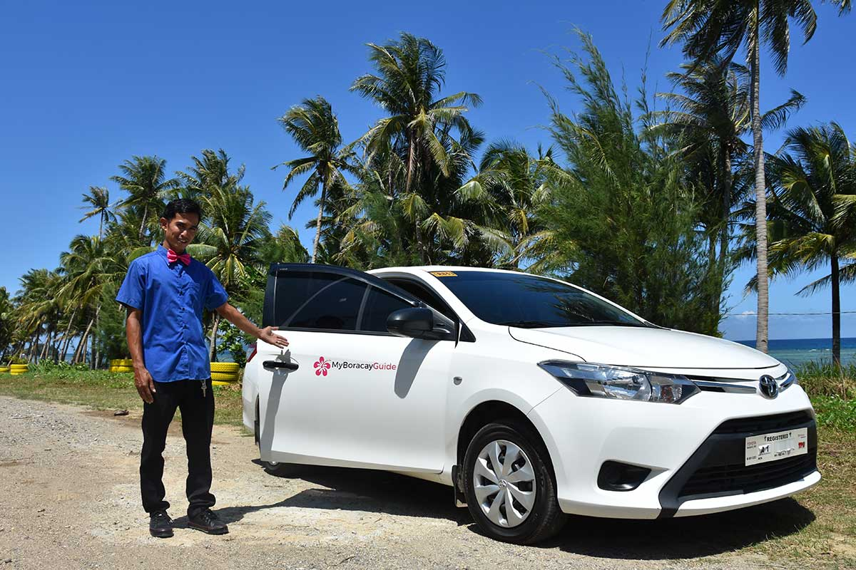 Private Taxi from Kalibo to Boracay