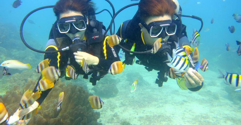 Scuba Diving Boracay Activities