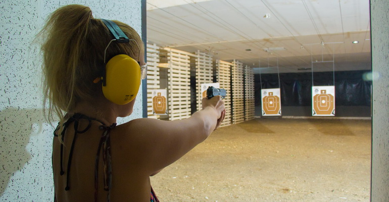 Indoor Shooting Range Boracay Activities