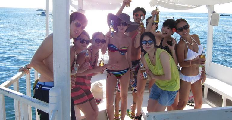 Sunset Party Cruise Booty Boracay Activities