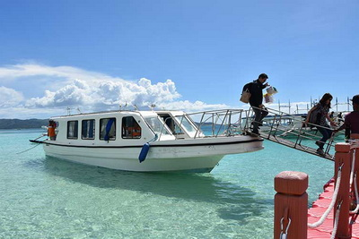 Speedboat to Boracay