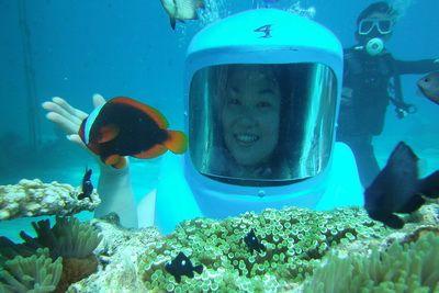 Helmet Dive Activities