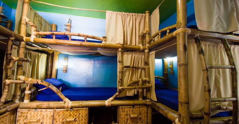 14 Bed Mixed Dorm Jeepney Hostel and Kite Resort Boracay