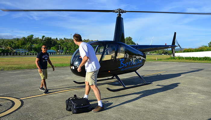 VIP Helicopter Transfer - Boracay