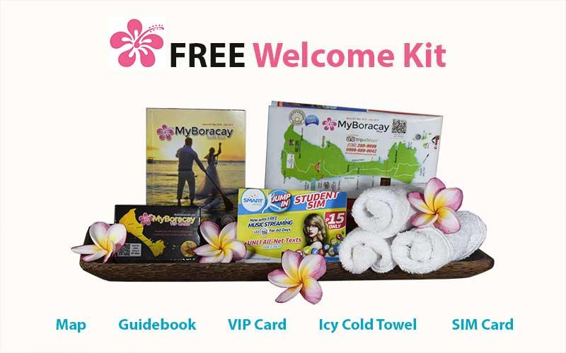 free welcome kit standard transfer myboracayguide