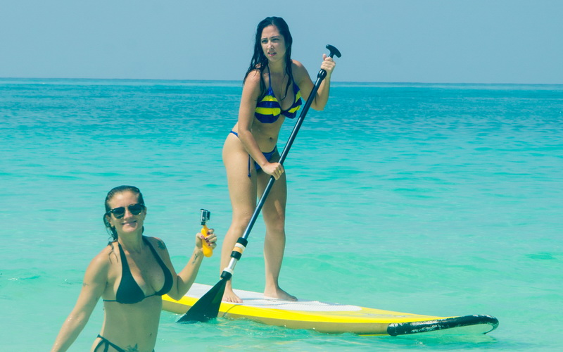 Stand Up Paddle on the Beach Boracay Activities