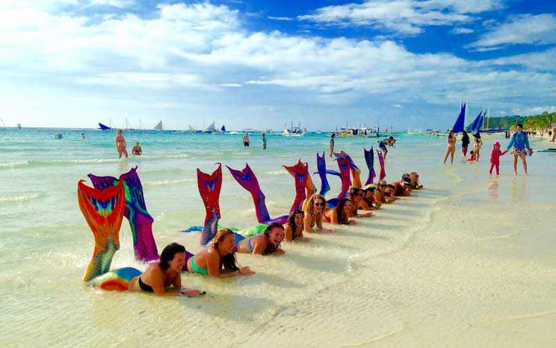 Mermaid Lesson Boracay Activity