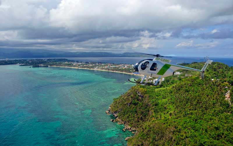 Helicopter Island Tour Boracay Activity