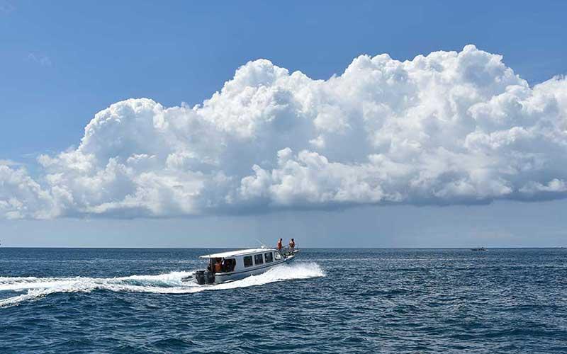 Speedboat to Boracay Island