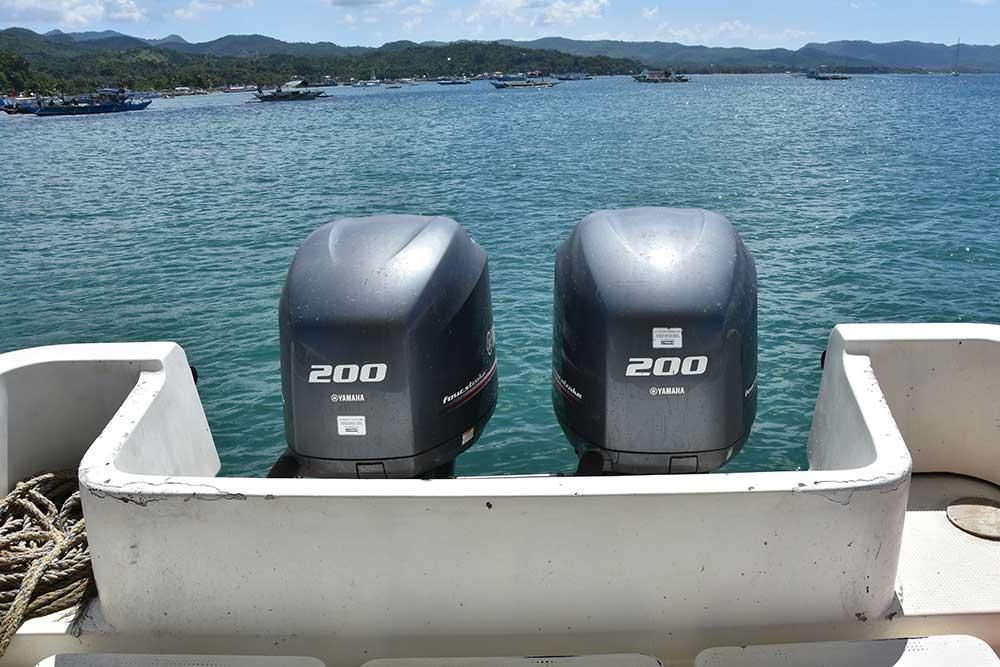 Boracay Speedboat Twin 200