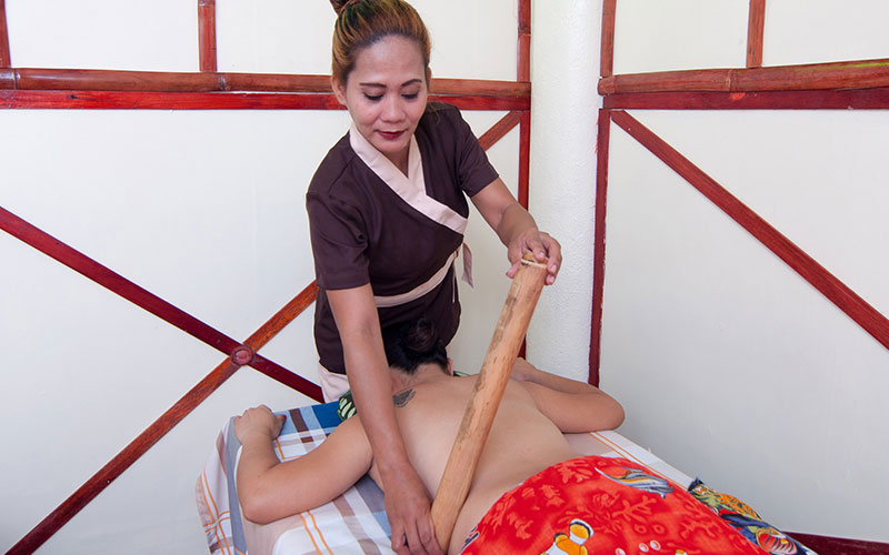 Bamboo Massage and Fish Spa